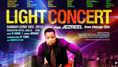 """Photo of Event : MADMO Concepts presents """"LIGHT CONCERT"""" in Abuja, 22.12.13"""