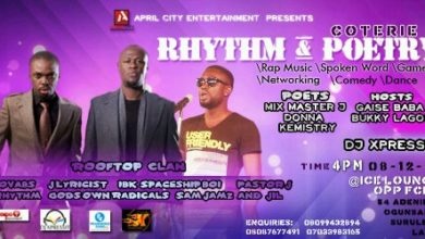 Photo of April City Entertainment set to host Rap and Poetry Edition of Coterie