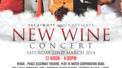 Photo of Event : Set Him Off Music (UK) Presents 'NEW WINE' Concert | MarcH 22nd, Lagos Nigeria