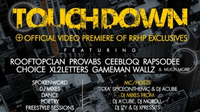Photo of Event : Random Rap Hip-Hop Project [#RRHP] Presents 'Touch Down' | MarcH 15, 2014
