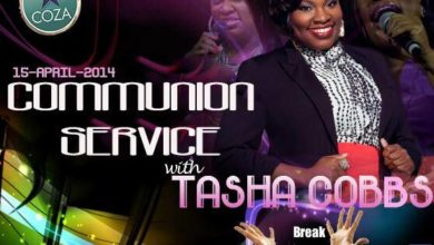 Photo of COZA to Host Tasha Cobbs LIVE in Concert This Tuesday, April 15
