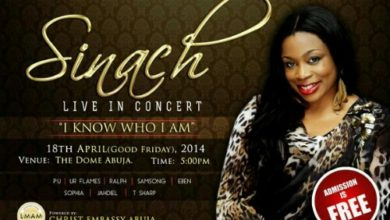 "Photo of Event : Sinach Live in Concert ""I Know Who I Am"" @ The Dome Abuja, April 18th (@sinach)"
