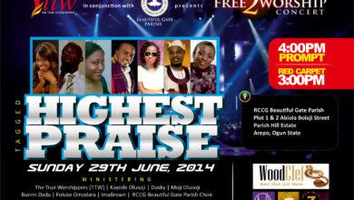 Photo of Event : TTW Presents FREE 2 WORSHIP CONCERT
