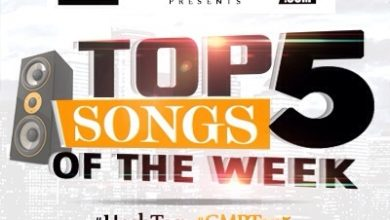 Photo of Top 5 Songs Of The Week! 2016 ~ WK17 | #GMPTOP5