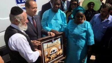 Photo of PhotoNewS :: Pastor Adeboye donates ambulance to Israel
