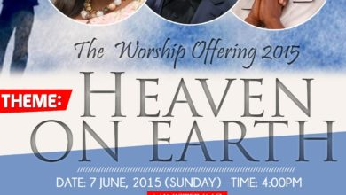 """Photo of All4Two Presents The Worship Offering 2015 themed """"Heaven On Earth""""   ft. CuteSagay, Dieko & More   June 7th, 2015"""