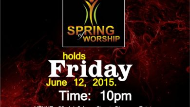 """Photo of The June Edition ; Spring Of Worship tagged ''Transforming Praise"""" 