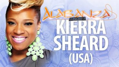 Photo of Grammy award-nominated singer & reality TV star 'Kierra Sheard' – Live in Nigeria for #Alabanza2015