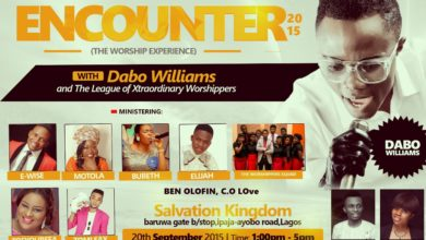Photo of ToeYourSea, Elijah, The Worshippers Squad & More Team Up With Dabo Williams For Encounter 2015 || @dabowilliam