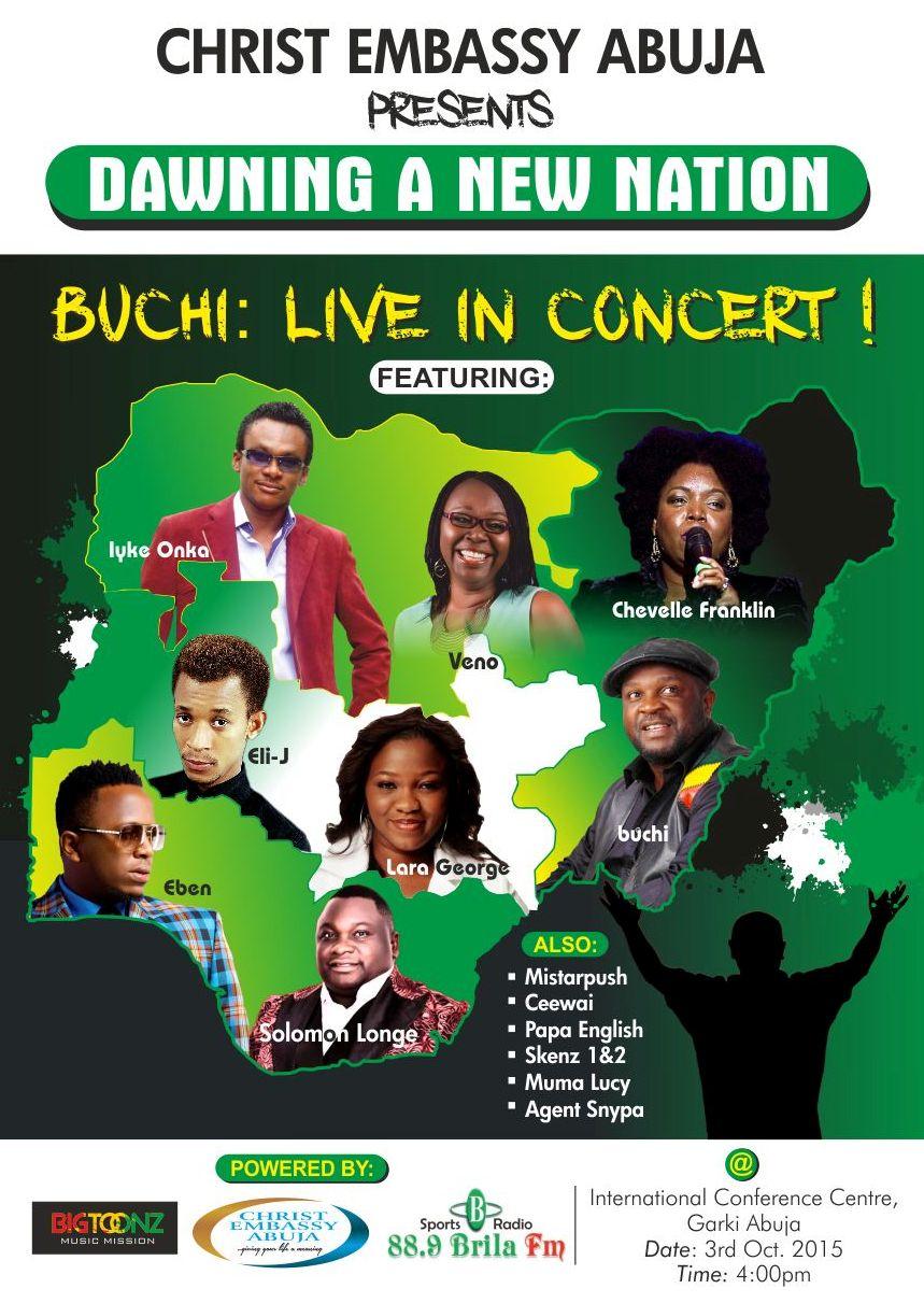 Nigeria Worships Flyer 2