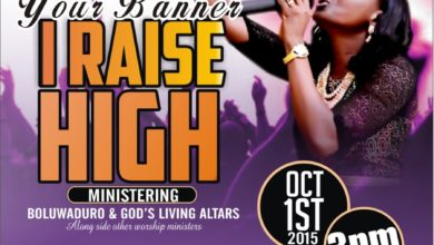 Photo of A Date With The KING 2015 Themed 'Your Banner I Raise High'   OCT 1st   @IamBoluwaduro @Psalmosbeejay