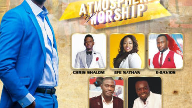 """Photo of Worshipculture Radio set for """"Atmosphere Of Worship"""" (AOW2015) concert and Unveiling of TWC Magazine"""