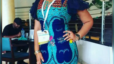 Photo of #GMPFashionTrends :: Divine Ukaogo Looking Fab In a Lovely Dress #AnkaraFashion