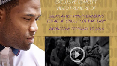 """Photo of Music Video : Yahoo! Music Exclusively Premieres Trinity Dawson's Top 40 Song """"Not That Easy"""""""
