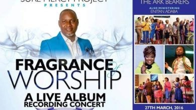 """Photo of """"Fragrance of Worship"""" a Live album Recording concert by Tony Zino and The Ark Bearers"""