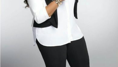 Photo of #GMPFashionTrends :: Kierra Sheard Absolutely Fabulous in White & Black
