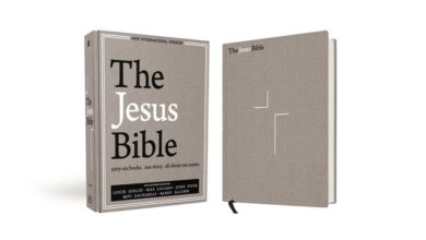 Photo of The Jesus Bible, NIV Edition, to Release with Featured Contributions from Louie Giglio & More