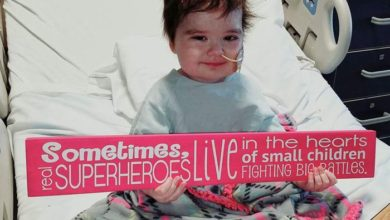 """Photo of Inspiring Video of a Four-Year-Old in Hospital Bed Singing """"Overcomer"""" by Mandisa"""