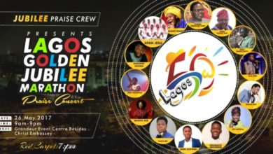 Photo of Lagos Golden Jubilee Marathon Praise Concert | #LagosAt50