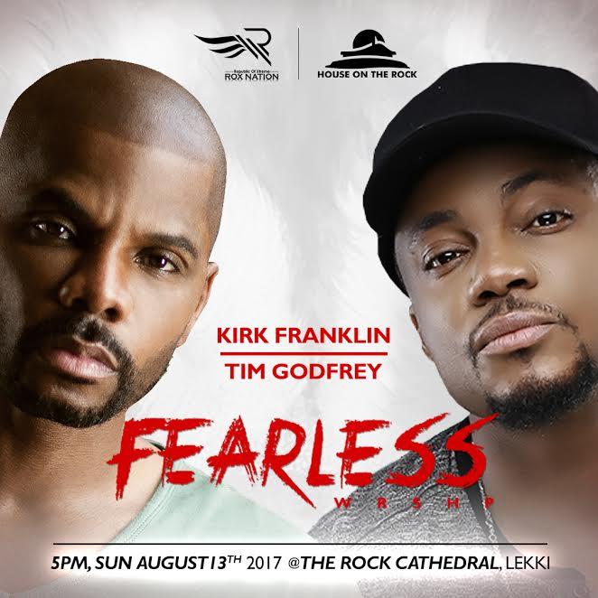 tim godfrey - kirk franklin fearless concert