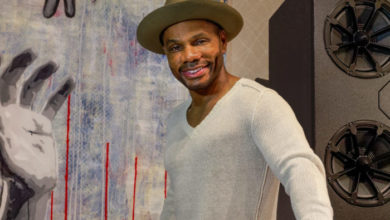 Photo of Kirk Franklin Opens Recording Studio in Downtown Arlington – See PHOTOs!