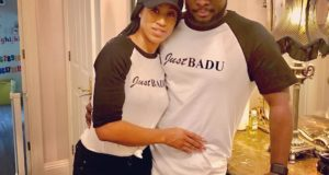 Sonnie Badu & Wife