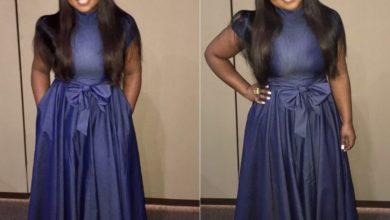 Photo of #GMPSundayFashion | Jekalyn Carr's Glamorous Look in a Denim Dress