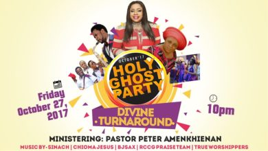 Photo of Sinach To Headline RCCG Tabernacle of David's Holy Ghost Party this October!