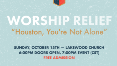 """Photo of Worship Relief Concert """"Houston, You're Not Alone"""" On Oct. 15 To Aide in Hurricane Relief"""