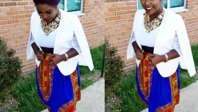 Photo of #GMPSundayFashion | Singer & TV Host, ANU's Urban African Look