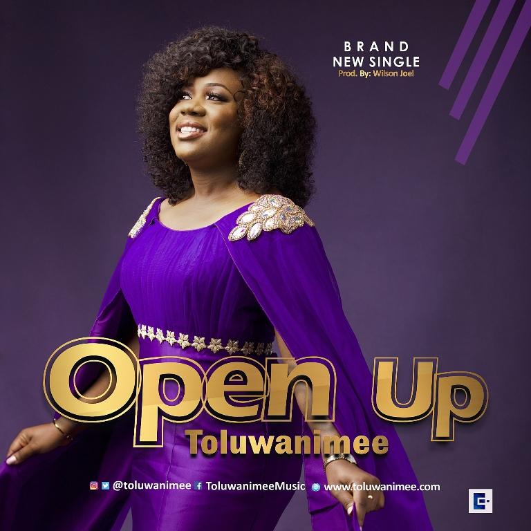 Toluwanimee - Open Up [Art cover]