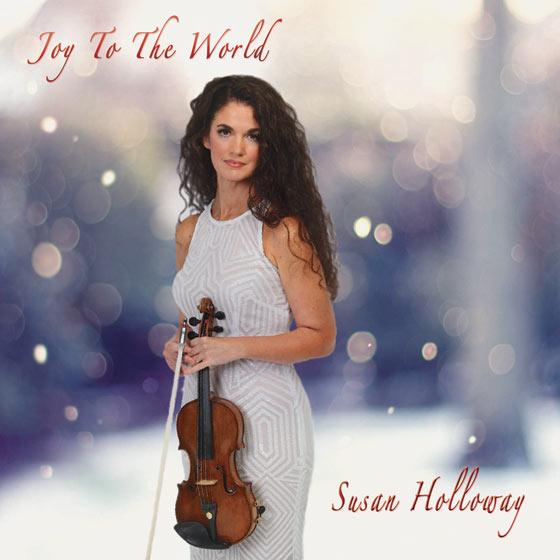 Violinist Susan Holloway - Joy to the World