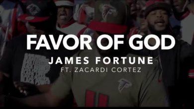 Photo of ViDEO :: James Fortune & FIYA – Favor of God (feat. Zacardi Cortez)