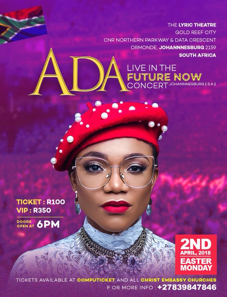 ADA live in the FUTURE NOW Concert