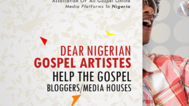 Photo of Dear Nigerian Gospel Artistes, Help The Gospel Bloggers/Media Houses