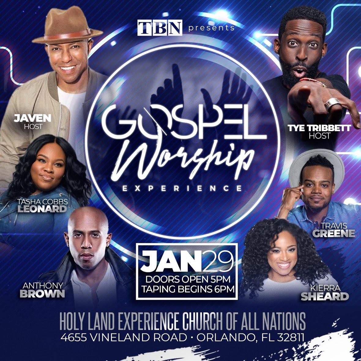 Tye Tribbett _ Gospel Worship Experience