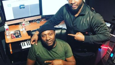 Photo of Sonnie Badu Hits the Studio with Mr. Shabz; Hints at New Single #IHailYou