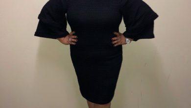 Photo of #GMPSundayFashion | Tasha Page-Lockhart; Simple Yet Graceful in a Black Dress