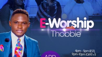 Photo of E-Worship with Thobbie – an Online Worship Experience | Apr. 29th, 2018 | @thobbieolubiyi