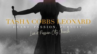 "Photo of Tasha Cobbs Leonard Readies ""Heart. Passion. Pursuit.: Live At Passion City Church"" for Release"