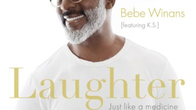 """Photo of Bebe Winans' New Single """"Laughter,"""" Just Like a Medicine"""