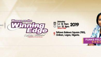 Photo of Funke Felix-Adejumo (Rev.) set for Winning Edge Conference 2019