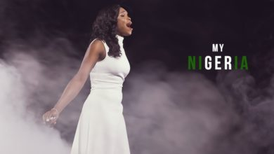 "Photo of ""MY NIGERIA,"" Victoria Orenze Inspires Hope with a Timely Song"