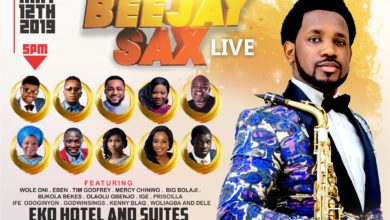 Photo of Beejay Sax Live 2019 To Light Up Lagos This Sunday [See Details]