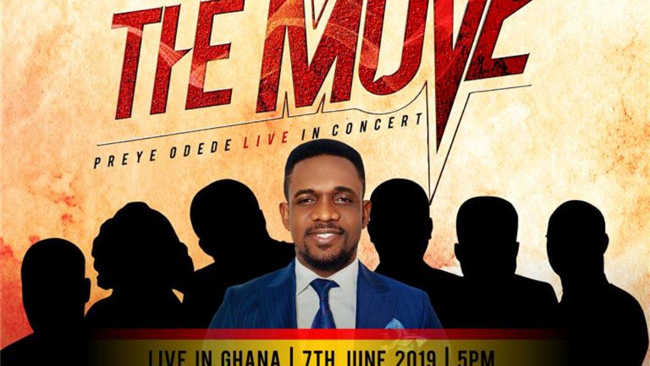 Preye Odede on 'THE MOVE' as Live Concert Hits Ghana | Jun 7