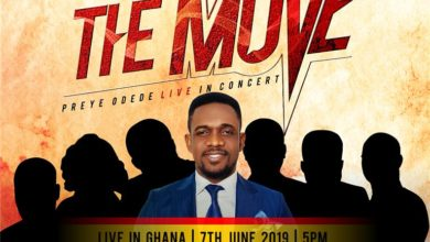 Photo of Preye Odede on 'THE MOVE' as Live Concert Hits Ghana | Jun 7