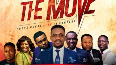 Photo of Preye Odede Reveals Star-studded Lineup for #THEMOVE: Tim Godfrey, Joe Mettle, Others!