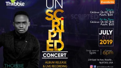 "Photo of Thobbie Presents ""UNSCRIPTED"" Concert 2019 