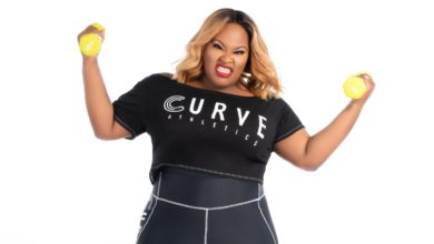 "Photo of Tasha Cobbs Leonard Launches New Clothing Line ""Curve Athletics"""