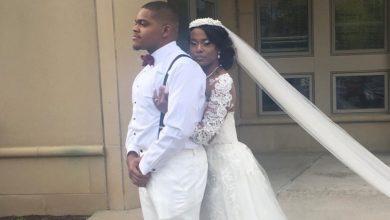 Geoffery Golden and Rebecca Married